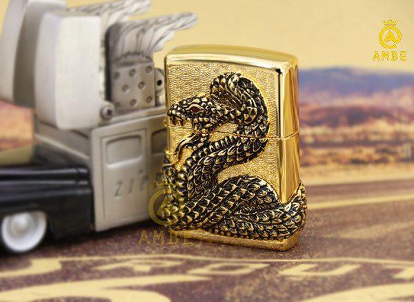 top bật lửa rắn đẹp độc lạ