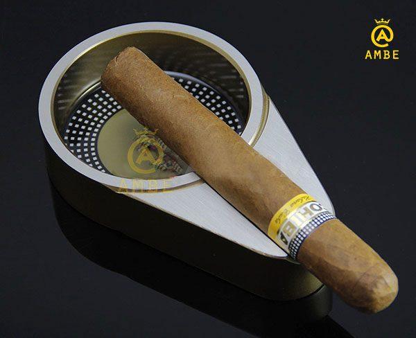 Top gạt tàn cigar kim loại