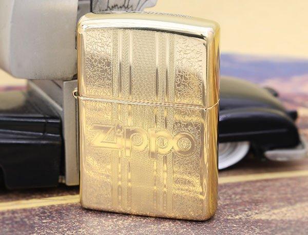 zippo 28145 vàng đồng