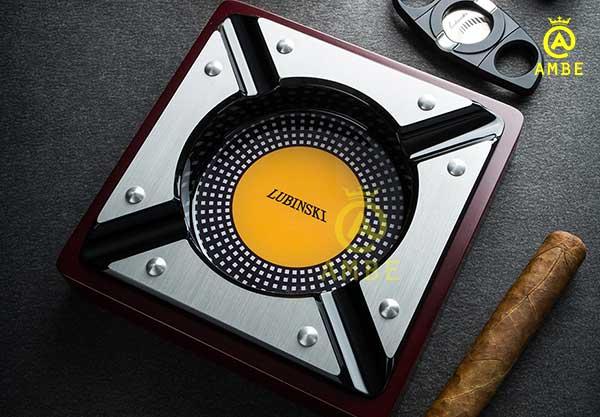 Gạt tàn xì gà gỗ