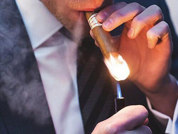 Xì gà cuốn chặt và cách xử lý