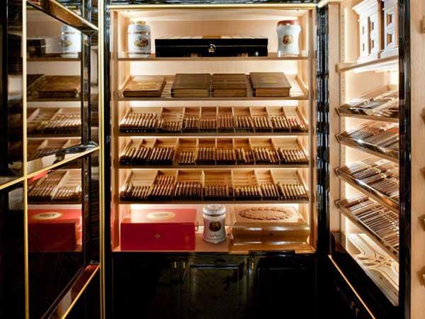 Tủ điện bảo quản Xì gà