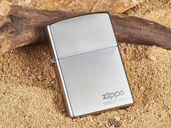 bật lửa Zippo chrome