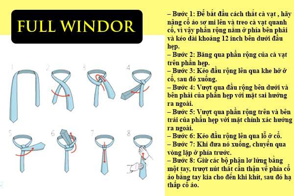thắt cà vạt đơn giản nhất