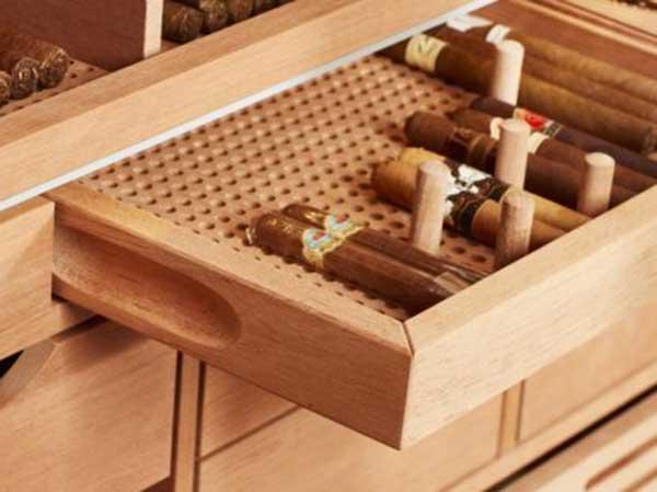 cách xếp xì gà vào tủ đúng