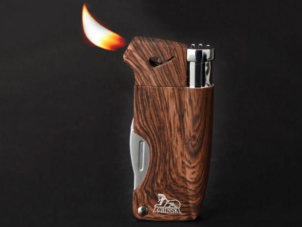 Ngọn lửa cong - tiết kiệm thời gian châm thuốc