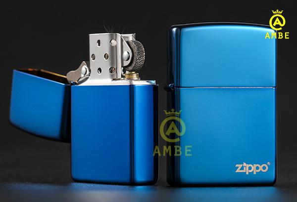 Top bật lửa Zippo xanh dương