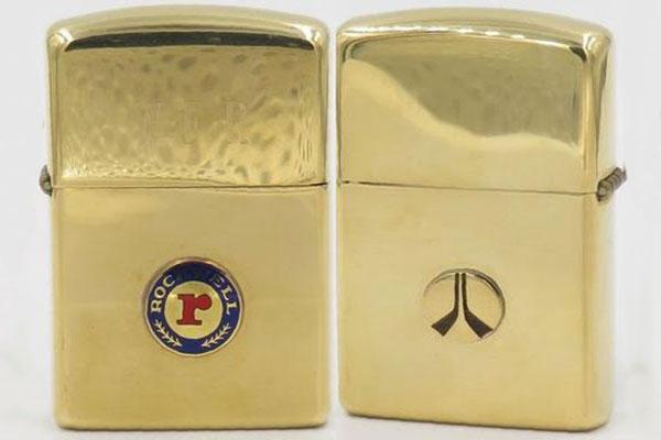 Zippo vàng nguyên khối 1960