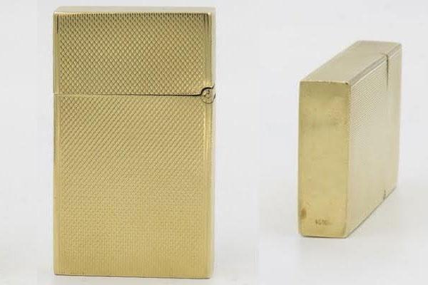 Zippo vàng nguyên khối năm 1961 và 1967